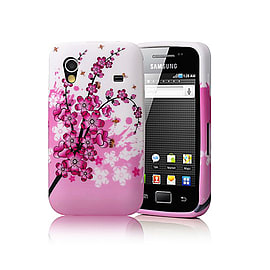 Samsung Galaxy Ace TPU design case - Plum Flower Mobile phones