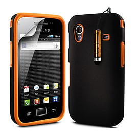 Samsung Galaxy Ace Dual-layer case - Orange Mobile phones