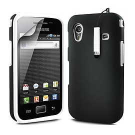 Samsung Galaxy Ace Dual-layer case - White Mobile phones