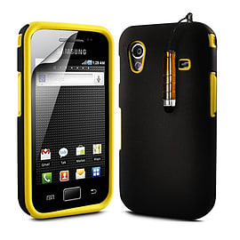Samsung Galaxy Ace Dual-layer case - Yellow Mobile phones