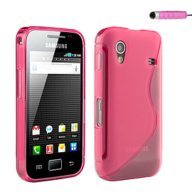 Samsung Galaxy Ace S-Line Gel case - Baby Pink Mobile phones