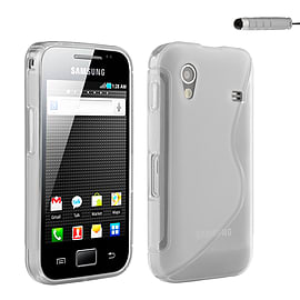 Samsung Galaxy Ace S-Line Gel case - Clear Mobile phones