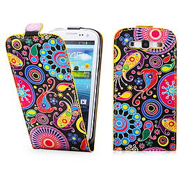 Samsung Galaxy S3 PU leather design flip case - Jellyfish Mobile phones