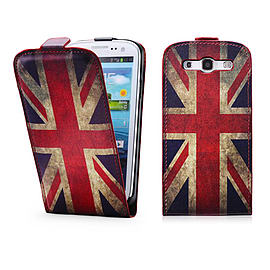 Samsung Galaxy S3 PU leather design flip case - Union Jack Mobile phones
