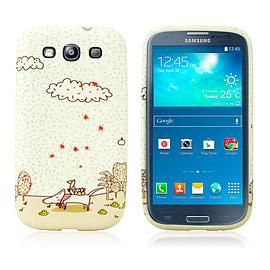 Samsung Galaxy S3 TPU Design case - Autumn Friends Mobile phones