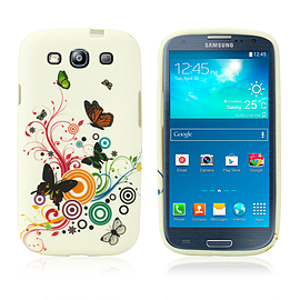 Samsung Galaxy S3 TPU Design case - Colour Butterfly Mobile phones