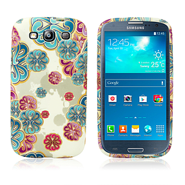 Samsung Galaxy S3 TPU Design case - Floating Flowers Mobile phones