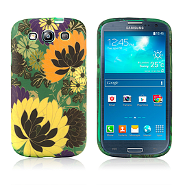 Samsung Galaxy S3 TPU Design case - Forest Flowers Mobile phones