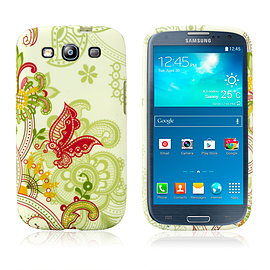 Samsung Galaxy S3 TPU Design case - Funky Butterfly Mobile phones