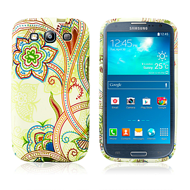 Samsung Galaxy S3 TPU Design case - Funky Flowers Mobile phones