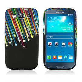 Samsung Galaxy S3 TPU Design case - Shooting Stars Mobile phones