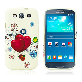 Samsung Galaxy S3 TPU Design case - Two Hearts Mobile phones