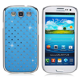 Samsung Galaxy S3 Twinkle Star hard shell case - Light Blue Mobile phones