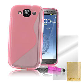 Samsung Galaxy S3 S-Line gel case - Baby Pink Mobile phones