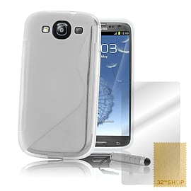 Samsung Galaxy S3 S-Line gel case - Clear Mobile phones