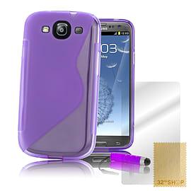 Samsung Galaxy S3 S-Line gel case - Purple Mobile phones
