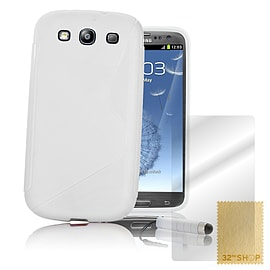 Samsung Galaxy S3 S-Line gel case - White Mobile phones
