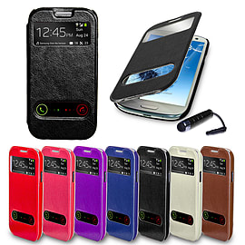Samsung Galaxy S3 S-View window case - Black Mobile phones