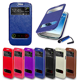 Samsung Galaxy S3 S-View window case - Deep Blue Mobile phones