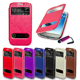 Samsung Galaxy S3 S-View window case - Hot Pink Mobile phones