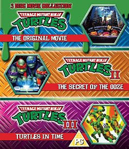 Teenage Mutant Ninja Turtles - 3 Movie Collection Blu-ray