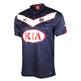 2014-2015 Bordeaux Puma Home Shirt - Small Adults Sports Football