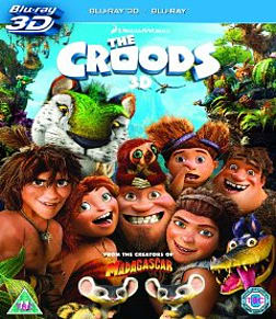 The Croods [3D + Blu-ray] Blu-ray