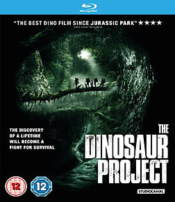 The Dinosaur Project Blu-ray