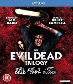 The Evil Dead Trilogy Blu-ray