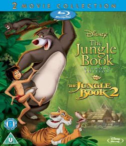 The Jungle Book 1 and 2 Blu-ray