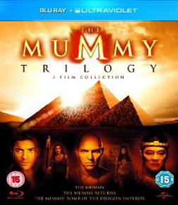 The Mummy Trilogy Blu-ray
