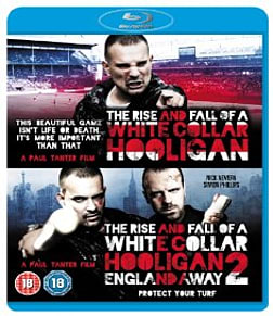 The Rise And Fall Of A White Collar Hooligan 1 & 2: Double Pack Blu-ray