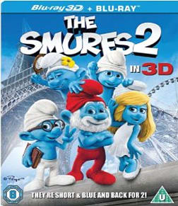 The Smurfs 2 [3D + Blu-ray] Blu-ray