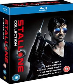 The Sylvester Stallone Collection Blu-ray