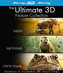 The Ultimate 3D Nature Collection Blu-ray