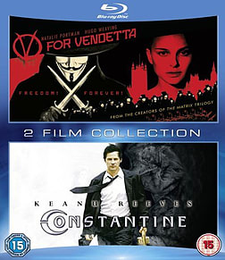 V for Vendetta/Constantine Double Pack Blu-ray