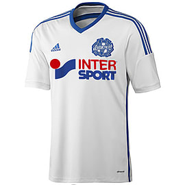 2014-15 Marseille Adidas Home Football Shirt - Large 42-44 Chest Sports Football