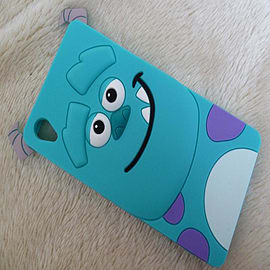 DIA SULLEY FACE SILICONE CASE COVER FOR SONY XPERIA Z3 (H17 LIGHT BLUE) Mobile phones
