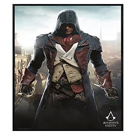 Assassin's Creed Unity Gloss Black Framed Arno Dorian Maxi Poster 61x91.5cm Posters