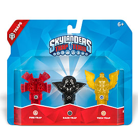 Skylanders Trap Team Triple Trap Pack - Fire, Kaos and Tech Toys and Gadgets
