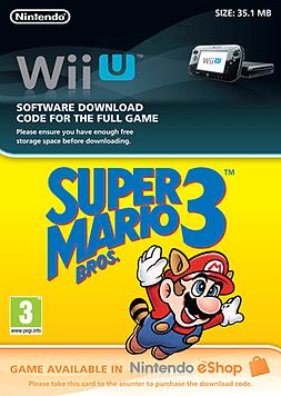 Super Mario Bros 3 Wii U