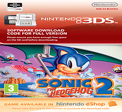 Sonic The Hedgehog 2 3DS