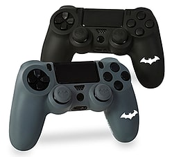 Batman Silicone Jackets & Thumb Grips - Double Pack PS4