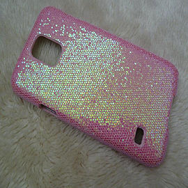 DIA LIGHT PINK GLITTER BLING SPARKLY HARD CASE COVER FOR SAMSUNG GALAXY S5 (D17 LIGHT PINK) Mobile phones