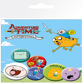 Adventure Time Finn Badge Pack Memorabilia