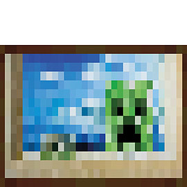 Minecraft Window Maxi Poster Posters