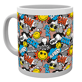 Smiley Comic Drinking Mug Home - Tableware