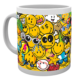 Smiley Tribes Drinking Mug Home - Tableware