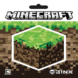 Minecraft Block Vinyl Sticker Posters