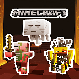 Minecraft Monsters Sticker Pack Posters